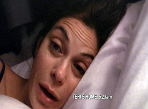 Тери ХАТЧЕР записала на камеру, как выглядит по утрам