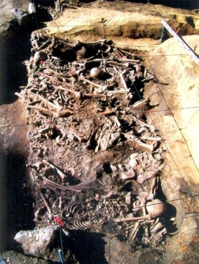 Санитарное захоронение жителей Ярославля, погибших при нападении войска Батыя. Источник: rusproject.org