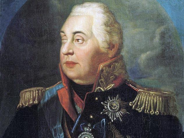 Портрет Кутузова. Автор – Р.М. Волков