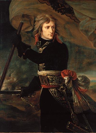 Картина Гро «Наполеон на Аркольском мосту»