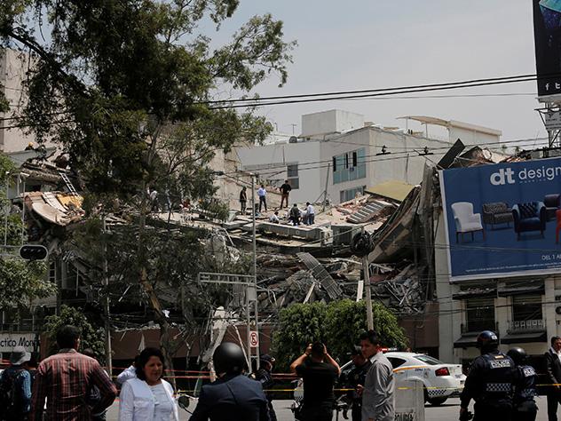 Черный день календаря: землетрясение вМексике забрало  жизни 248 человек