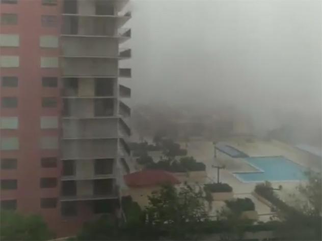 Супруг Наташи Королевой Тарзан оказался вэпицентре урагана «Ирма