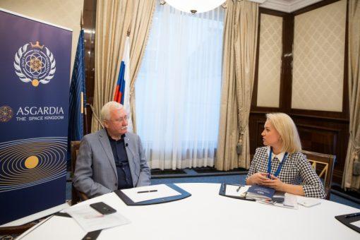 Игорь Ашурбейли рассказал об итогах года Асгардии