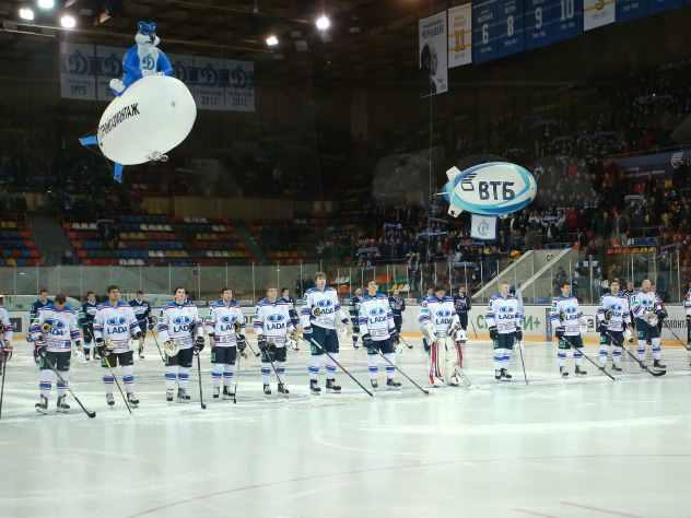 Хоккеисты «Лады» отравились вЧелябинске перед матчем