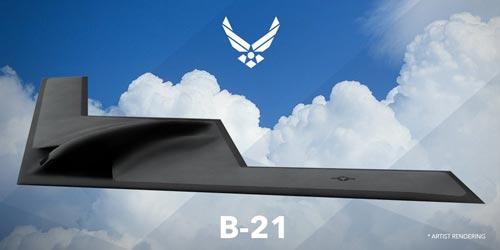 Предположительный внешний вид бомбардировщика B-21. Фото: U.S. Air Force Graphic
