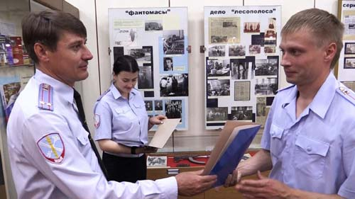 В Музее истории органов правопорядка Дона есть много экспонатов, посвященных банде Фантомасов. Фото: ГУ МВД РФ по РО