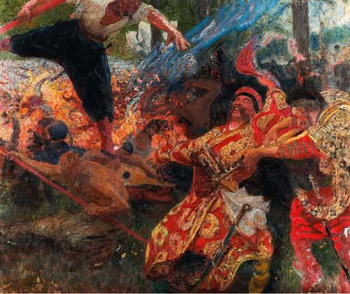 Илья Репин. «Гопак». Источник: wikimedia.org