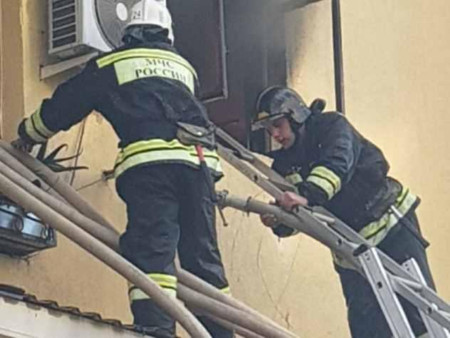 ВНижнем Новгороде 3-х летний парень устроил пожар вквартире