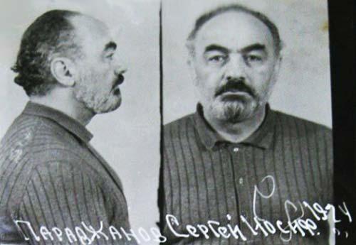 Сергей Параджанов во время ареста. wikimedia