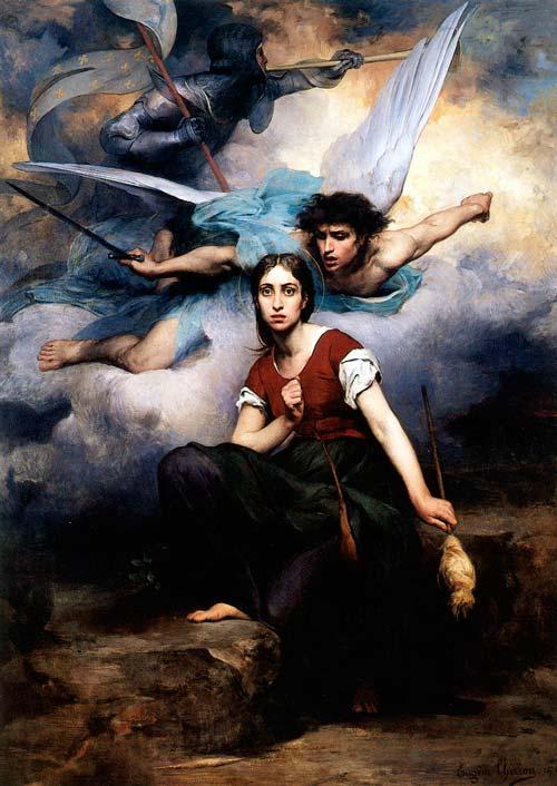 «Жанна слышит голоса». Эжен Тирион, 1876 год. wikimedia