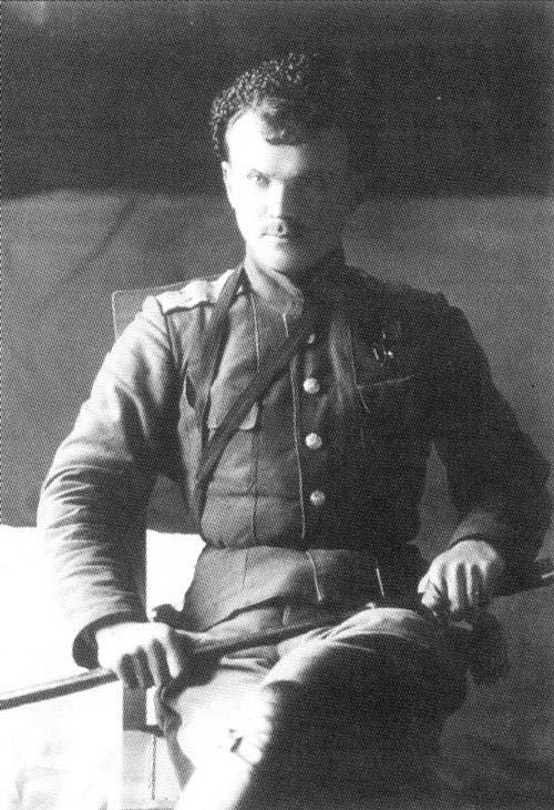 Иван Калмыков, Войсковой атаман Уссурийского казачьего войска, 1918 год. Фото: wikimedia.org