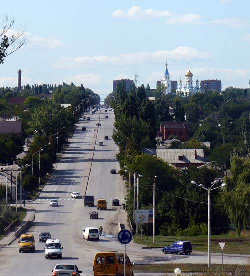 Город Шахты, вид на улицу Советская. Источник: wikimedia.org