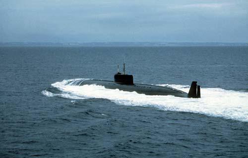 К-162 на испытаниях. Источник: wikipedia.org