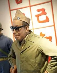 Министр обороны Тайваня Ю Да-вей в 50-е годы, экспозиция мемориального музея острова Кинмэн. Источник: YouTube