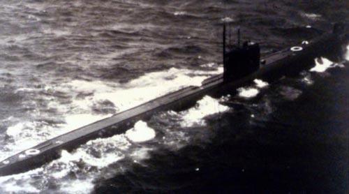 Атомная подводная лодка проекта 659 с крылатыми ракетами. Фото: wikipedia.org