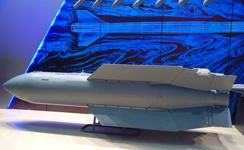 Российская планирующая авиабомба «Дрель» на выставке «Армия-2016». Источник: Дмитрий Решетников / ТАСС