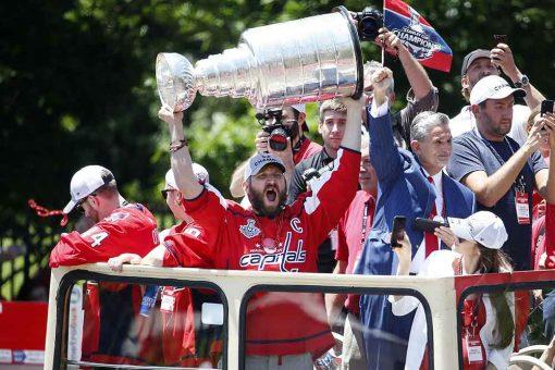 """Чемпионский парад """"Вашингтона"""""""