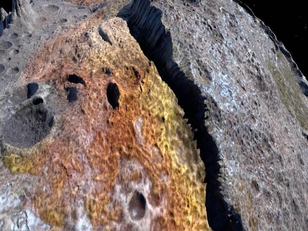 NASA предлагает добывать золото и платину на астероидах