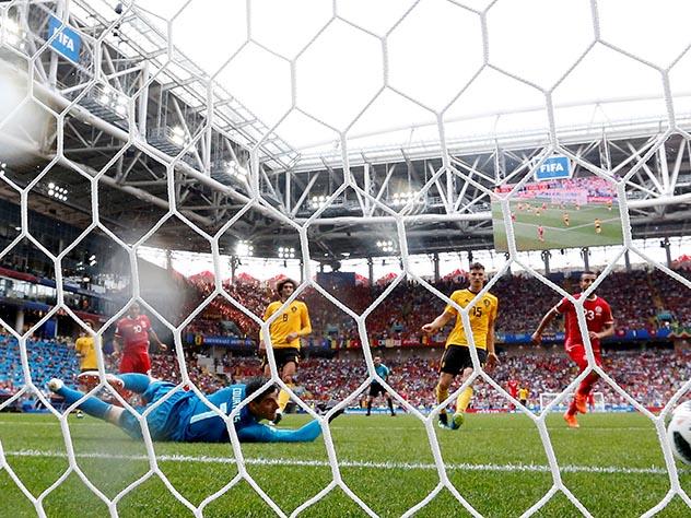 Команда Бельгии победила сборную Тунис с разгромным счетом