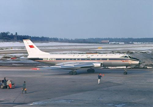 По первоначальному плану диссиденты хотели угнать Ту-124. Источник: wikimedia