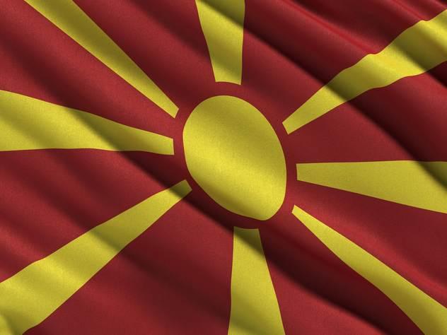 Флаг Македонии.