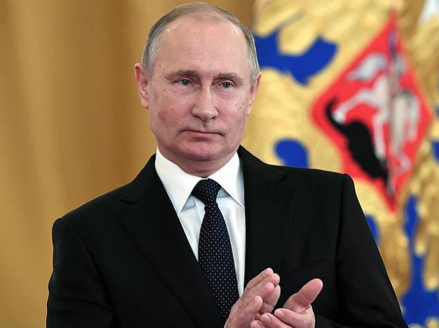 «Болел за наших»: Владимир Путин поздравил сборную России с победой