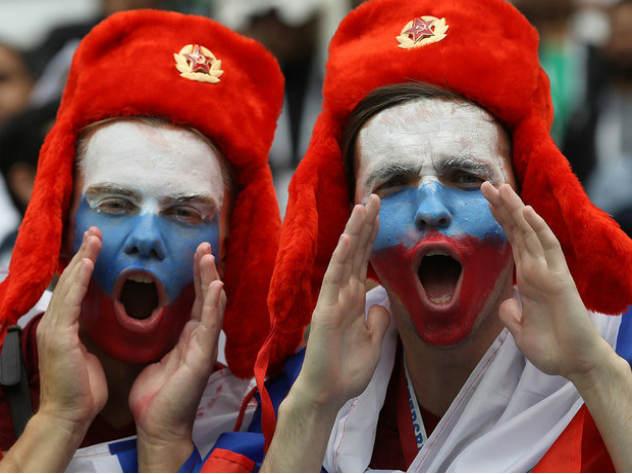 Испания забила первый гол в ворота сборной России