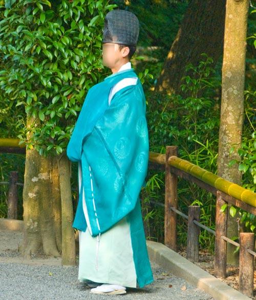 Синтоистский священнослужитель. Источник: wikimedia.org. Автор Urashimataro