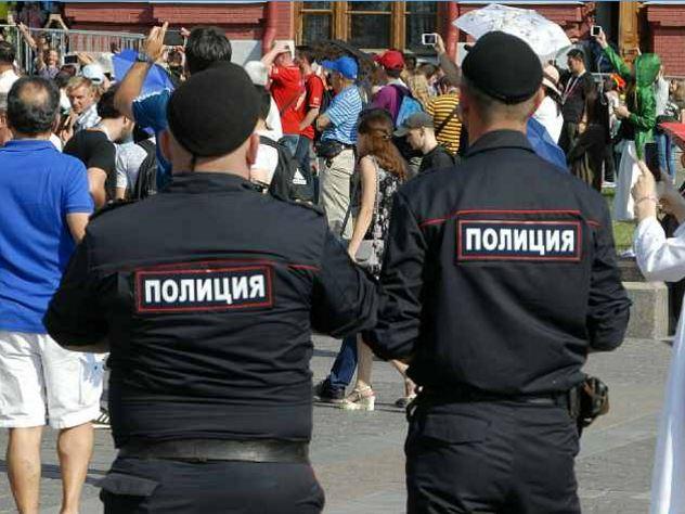 В Москве произошло нападение на полицейских