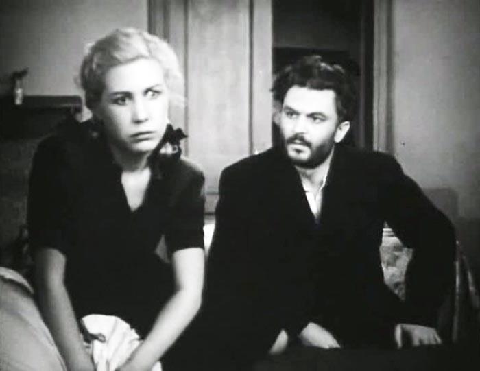 Инна Макарова и Сергей Бондарчук в фильме «Молодая гвардия», 1948 г.