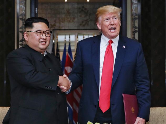 Трамп и Чен Ын наиболее вероятные фавориты на премию мира