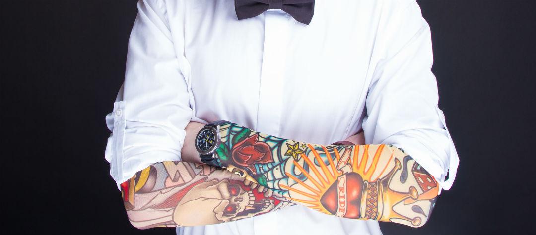на какую работу не берут с татуировками