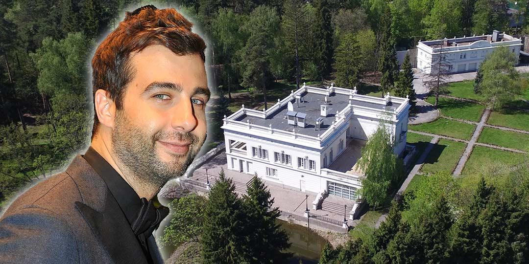 Иван Ургант, дом, где живет