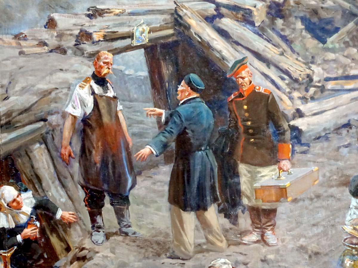 Картина «Оборона Севастополя»